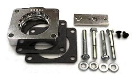 street and performance technology helix throttle body spacer 94335
