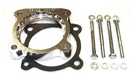 street and performance technology helix throttle body spacer 95135