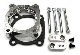 street and performance technology helix throttle body spacer 97405