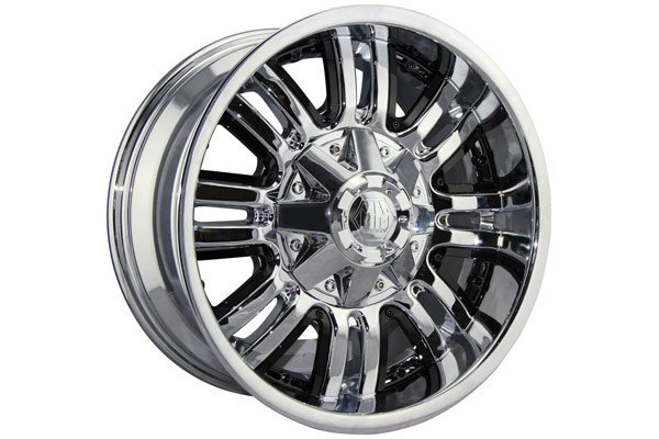 mayhem assault wheels chrome with black accents sample
