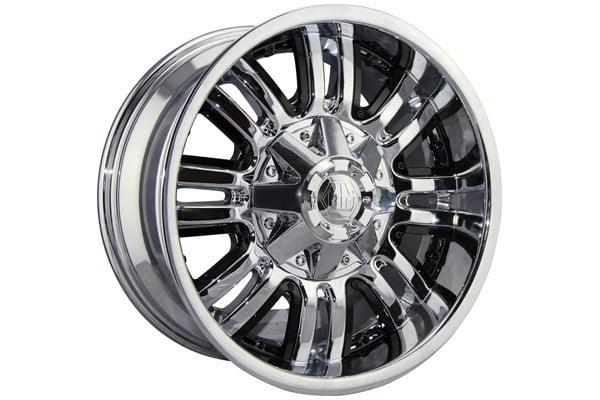mayhem assault wheels chrome with black accents sample