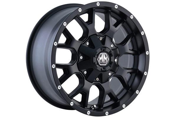 mayhem warrior wheels matte black sample