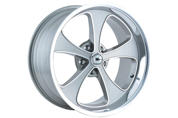 ridler 645 wheels grey with machined face with polished lip sample
