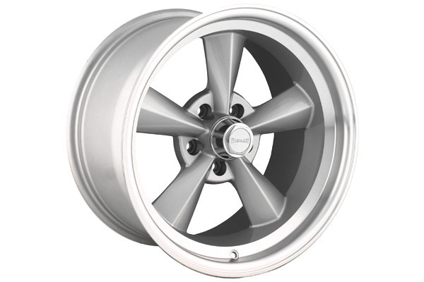 ridler 675 wheels hyper silver with machined lip sample