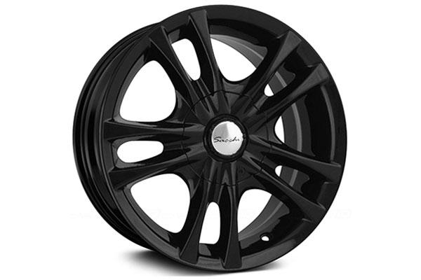 sacchi s2 wheels black sample