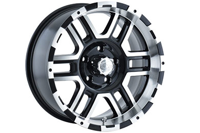 ion alloy 179 wheels black with machined face and lip sample
