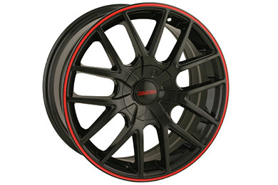touren tr60 wheels gloss black with red ring sample