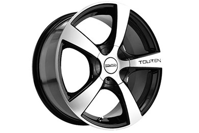 touren tr9 wheels black with machined face sample