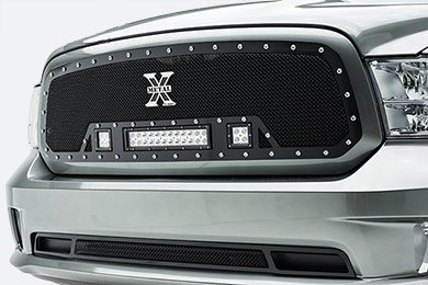 T-Rex Torch LED Grilles Ram Gray 6314581