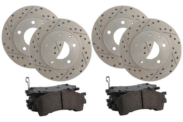 truxp high performance brake kit 4 wheel kit sample