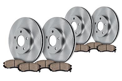 truxp performance brake kit frxp oe with pads sample