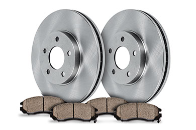 truxp performance brake kit oe with pads sample
