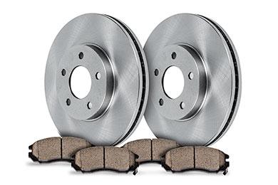 truxp performance brake kit oe with pads sample