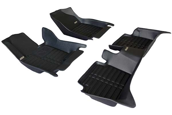 TuxMat Floor Liners Front and Second Row Set