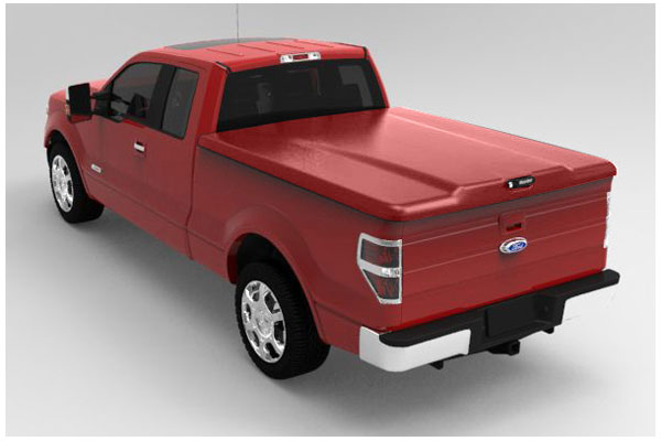 undercover ford RR Ruby Red sample