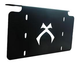 visionx license plate light bar bracket no light