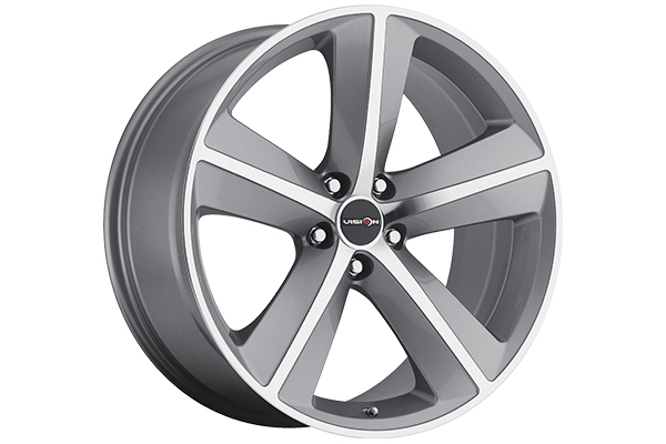 sport concepts 859 wheels gunmetal with machined face sample
