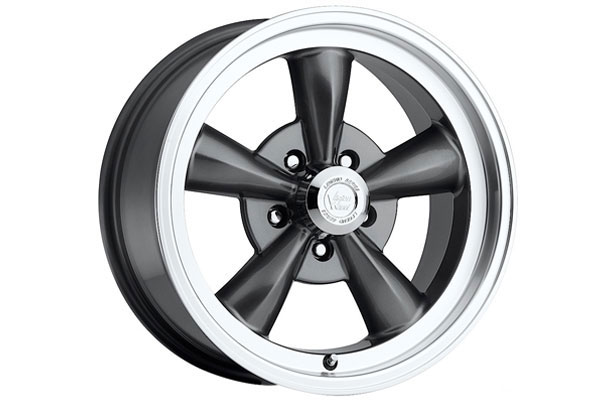vision 141 legend 5 wheels gunmetal with machined lip sample