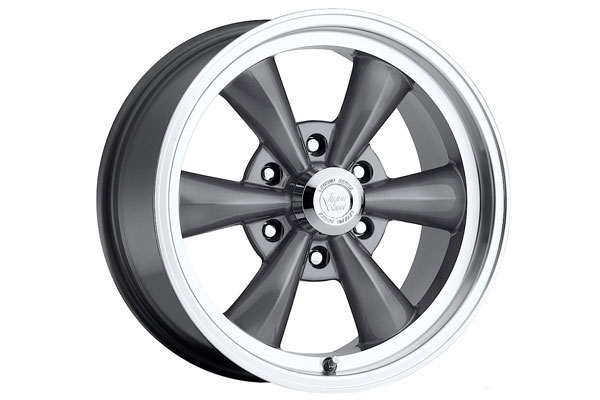 vision 141 legend 6 wheels gunmetal with machined lip sample