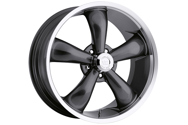 vision 142 legend 5 wheels gunmetal with machined lip sample