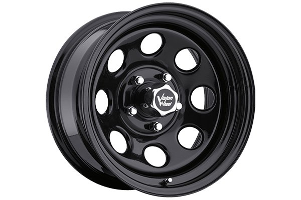 vision 85 soft 8 wheels black 5 lug sample