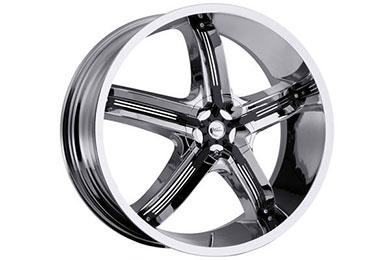 milanni 459 bel air 5 wheels chrome with black accents sample