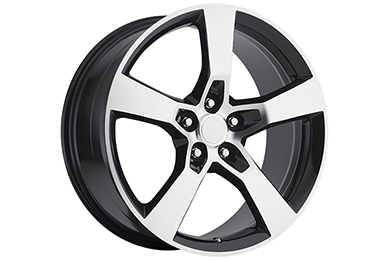 sport concepts 860 wheels gloss black with machined accents sample