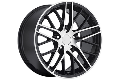 sport concepts 862 wheels gloss black with machined accents sample