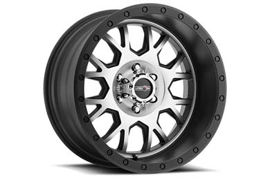 vision gv8 invader wheels matte black machined face