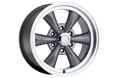 vision 141 legend 6 wheels gunmetal with machined lip sample
