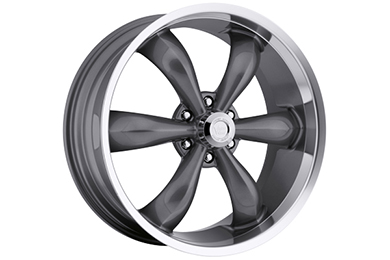 vision 142 legend 6 wheels gunmetal with machined lip sample