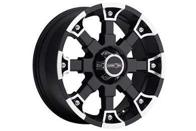 vision 392 brutal wheels matte black with machined accents 6 sample