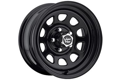 vision 84 d window wheels black 5 lug sample