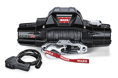 warn zeon 8 winch synthetic