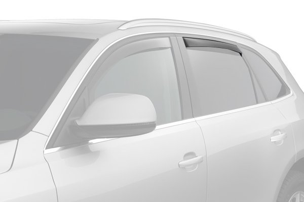 weathertech window deflector light smoke suv rear