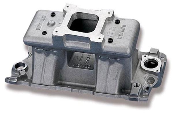 Image of Weiand Hi-Ram Intake Manifold 3984 Chevy Small Block