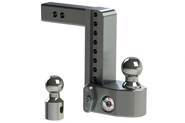 Trailer Hitch Ball Sizes >> Weigh Safe Ws8 2 5 Weigh Safe Trailer Hitch Adjustable Ball Mount