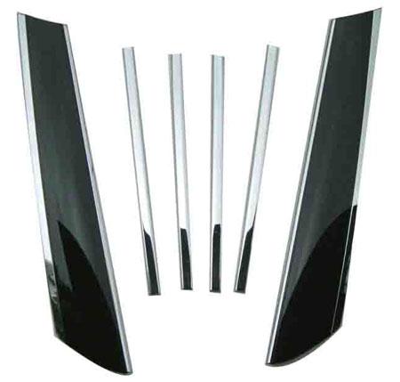 wellstar chrome pillar covers OCP-PC-MIN15