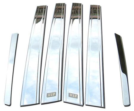 wellstar chrome pillar covers OCP-PC-T15