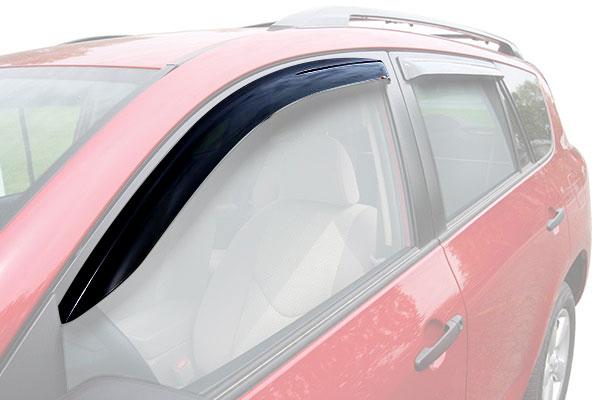 westin slim line window deflector car front