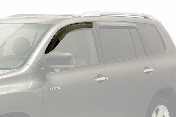 westin slim line window deflector suv front