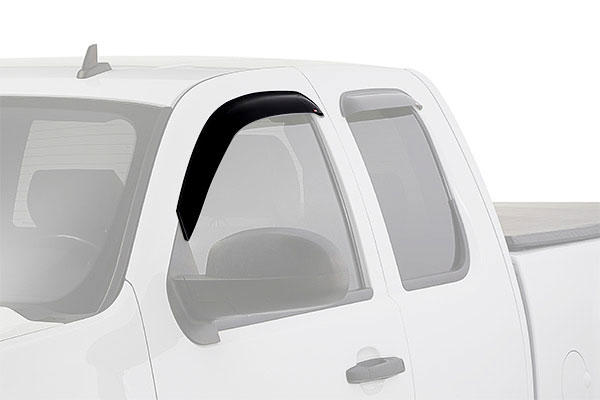 westin slim line window deflector truck front