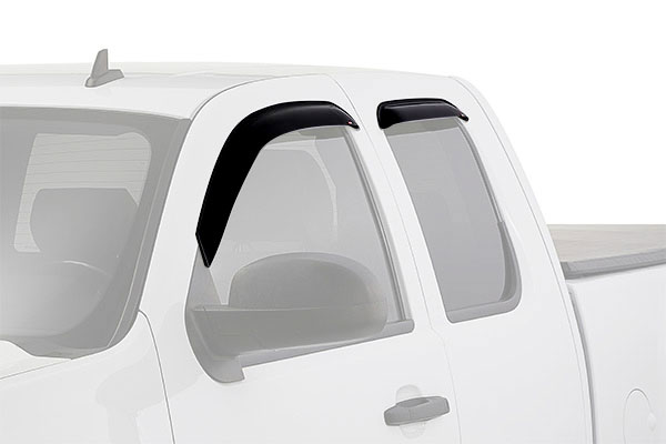 westin slim line window deflector truck front rear