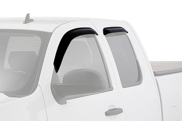 westin slim line window deflector truck front rear
