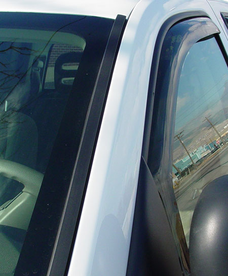 westin wade in-channel vent visors 72-35471