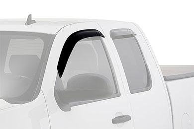 westin slim line window deflector truck front