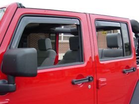 westin wade in-channel vent visors 72-51495