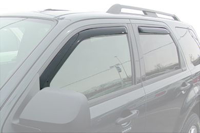 westin wade in-channel vent visors general front rear