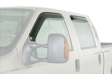 westin wade in-channel vent visors truck front rear