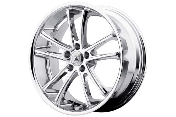 Image of Asanti Black 001 Pegasi Wheels in Chrome Plated, 001 Wheels